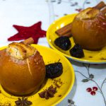 Bratapfel mit Marzipan-Backpflaumen-Füllung