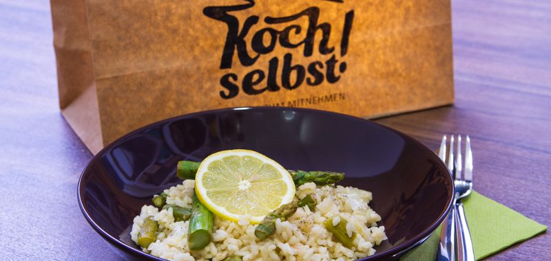 Zitrus-Spargel-Risotto
