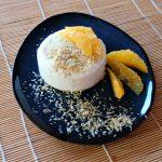 Vegane Zitronengras-Kokos-Panna Cotta mit Orangen